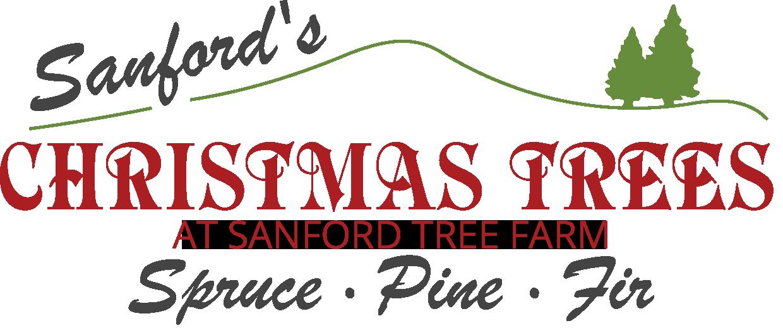 Christmas Tree Farm Logo.Sanford Tree Farm Cut Your Own Christmas Trees